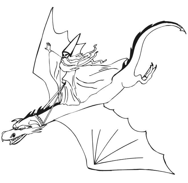 Раскраска  дракон, для детей, распечатать бесплатно. Скачать дракон.  Распечатать мифические существа