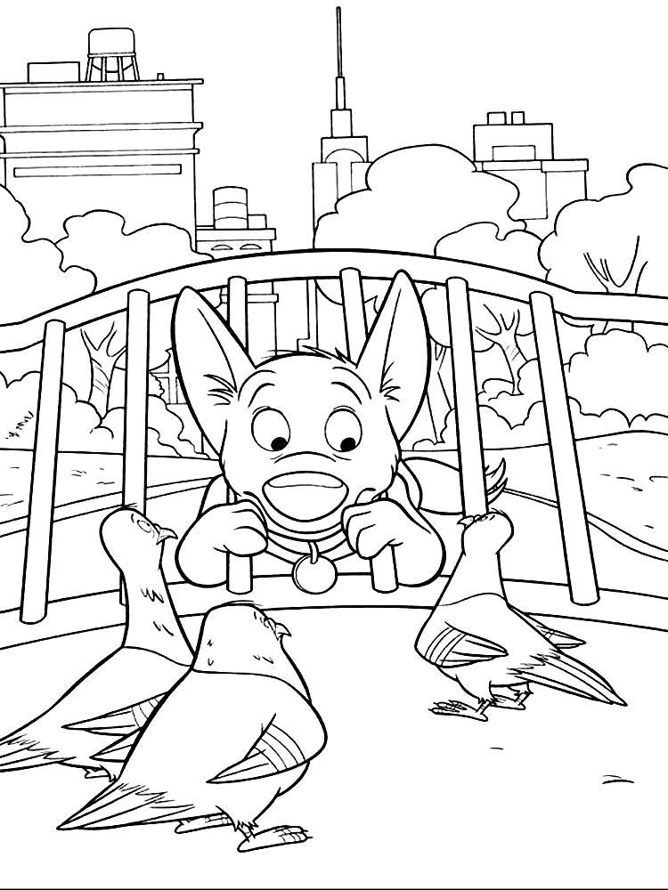 Раскраска Детские  с Вольтом. Скачать .  Распечатать