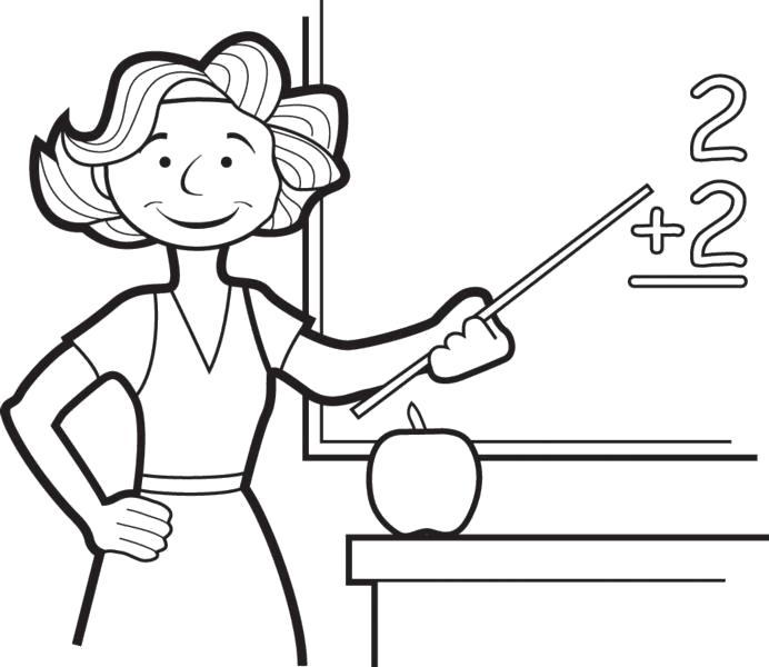 """Название: Раскраска Раскраски """"учитель"""" . Категория: Учитель. Теги: Учитель."""