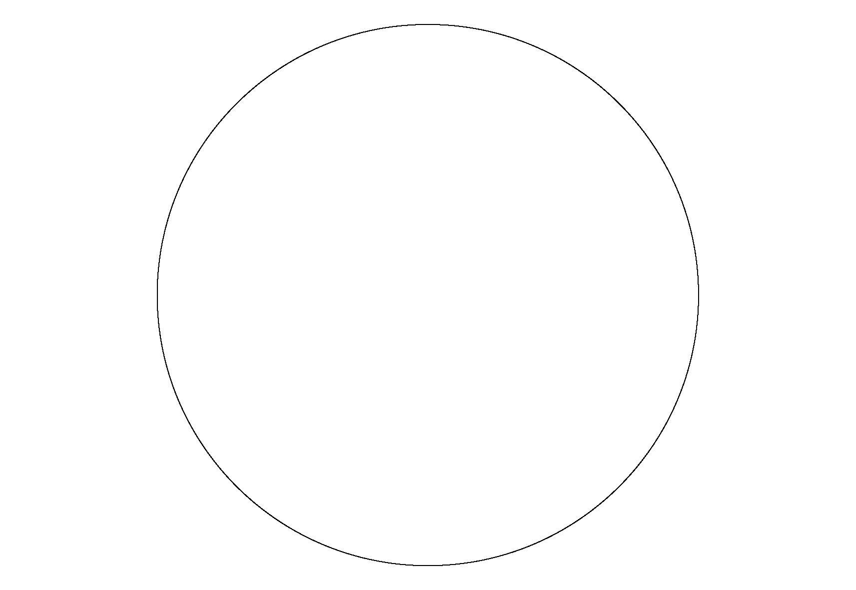 Раскраска Круг. Скачать круг.  Распечатать геометрические фигуры