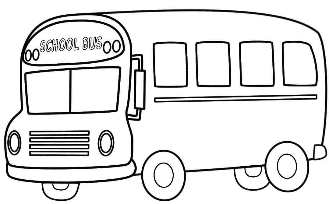 Раскраска School Bus-Школьный автобус. Скачать .  Распечатать