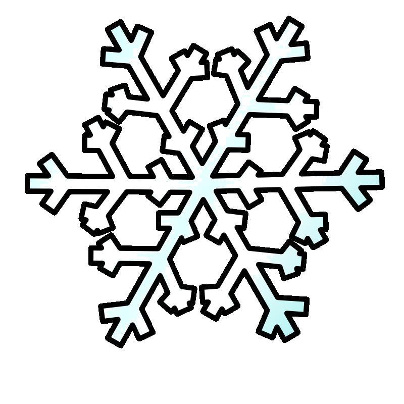 Раскраска Красивая снежинка которую можно распечатать и вырезать.. Скачать Снежинки.  Распечатать Новый год