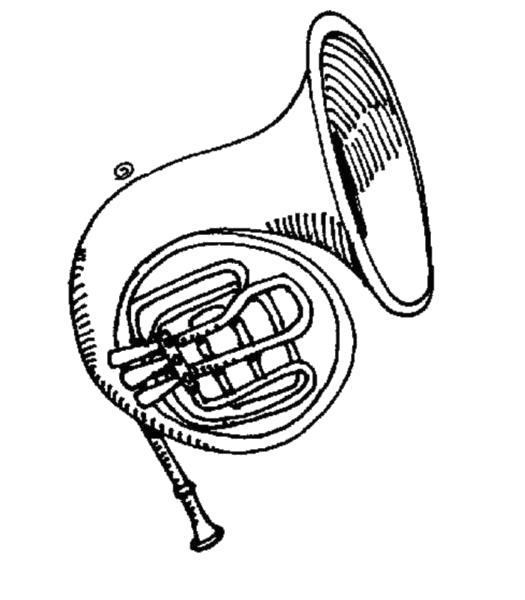 """Раскраска  """"музыкальные инструменты"""" . Скачать .  Распечатать"""