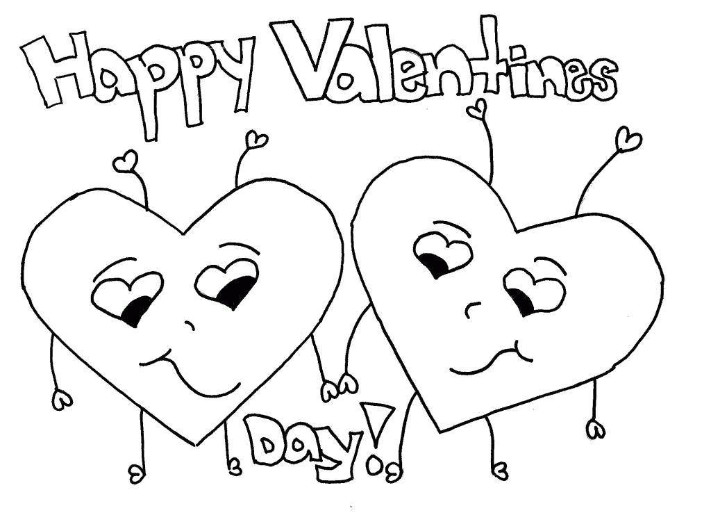 Раскраска  сердечки День Святого Валентина, сердечки . Скачать сердечки.  Распечатать сердечки