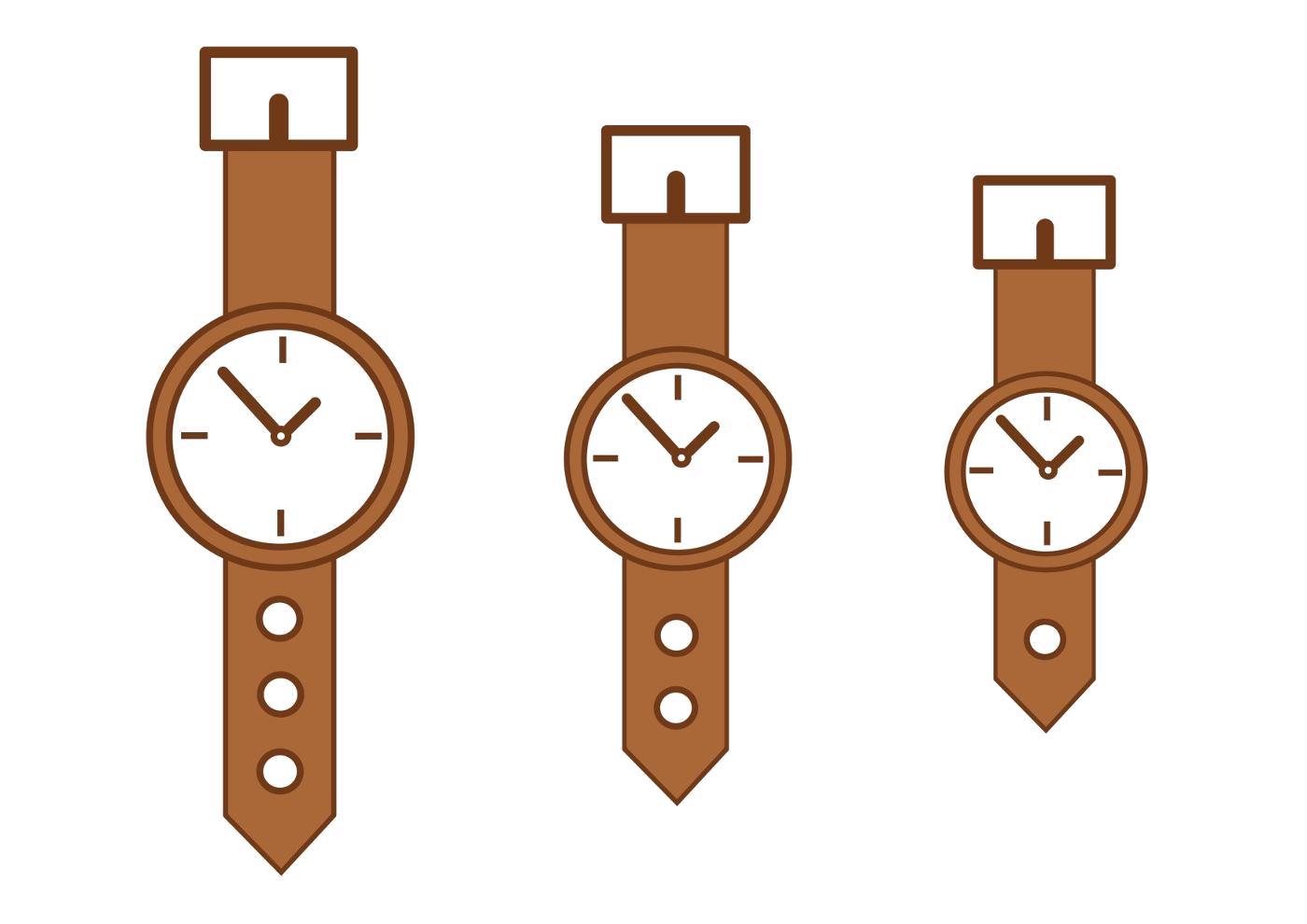 Название: Раскраска Наручные часы, клипарт, рисунок. Категория: Часы. Теги: Часы.
