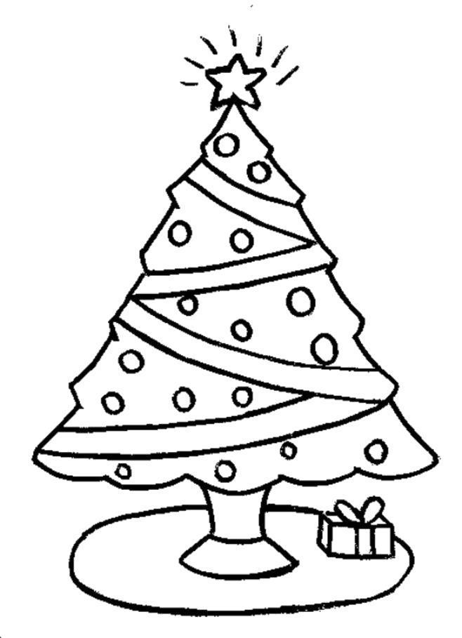 Раскраска елка  для детей. Скачать Елка.  Распечатать Елка