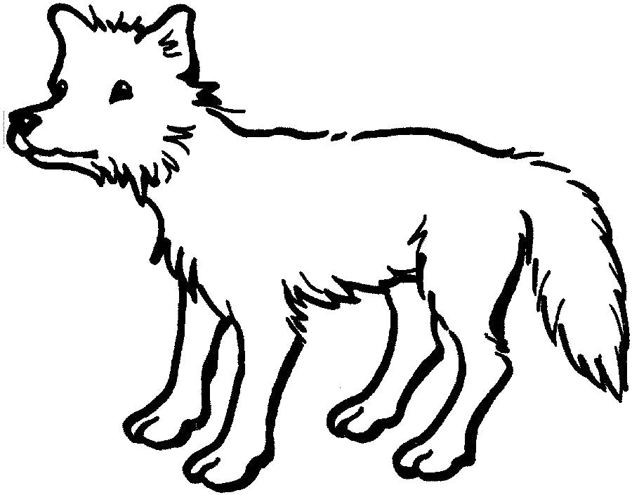 Раскраска Собачка. Скачать животных.  Распечатать животных