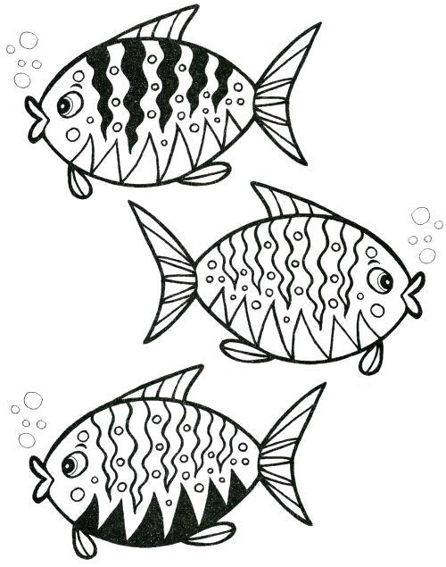 Раскраска  Золотая рыбка.   золотой рыбки, рыбка в море, на море буря,  золотой рыбки. Скачать рыбы.  Распечатать Рыбы
