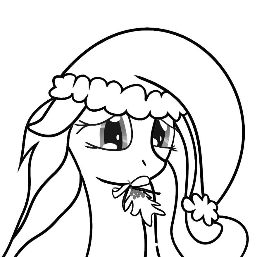 Раскраска  мой маленький пони . Скачать .  Распечатать