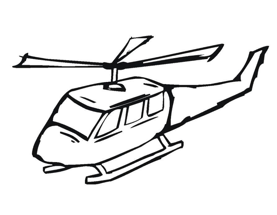 Название: Раскраска Раскраска вертолет ребенку. Категория: вертолет. Теги: вертолет.