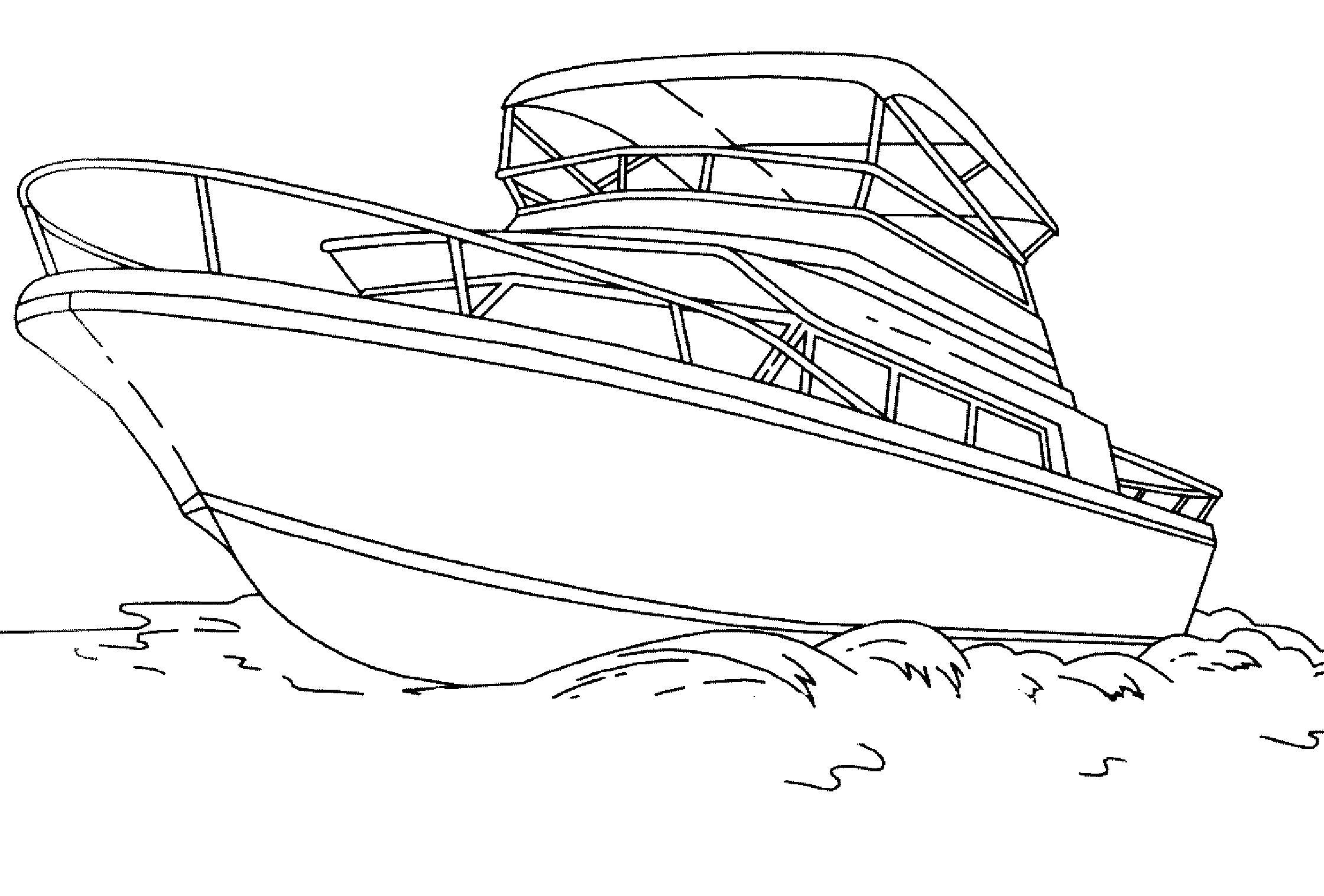 Раскраска  корабли, охранный корабль. Скачать корабль.  Распечатать корабль