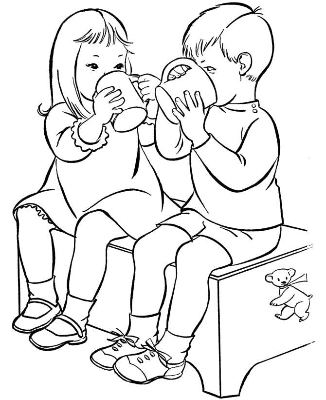 Раскраска 1 июня день защиты детей . Скачать день защиты детей.  Распечатать день защиты детей