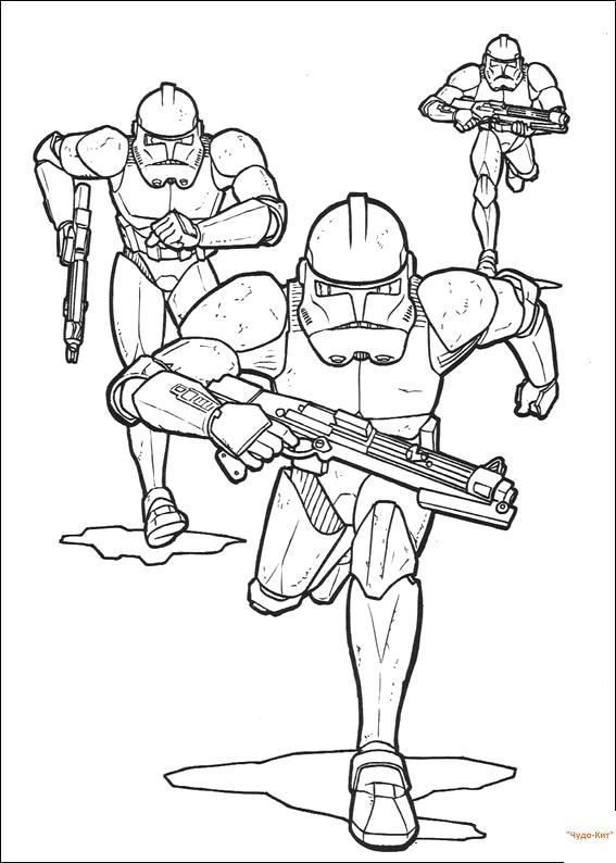 Раскраска войны темной силы. Скачать Звездные войны.  Распечатать Звездные войны