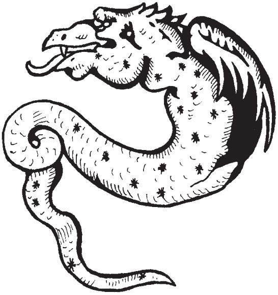 Раскраска Танцы с драконами. Мифы и легенды. Скачать .  Распечатать
