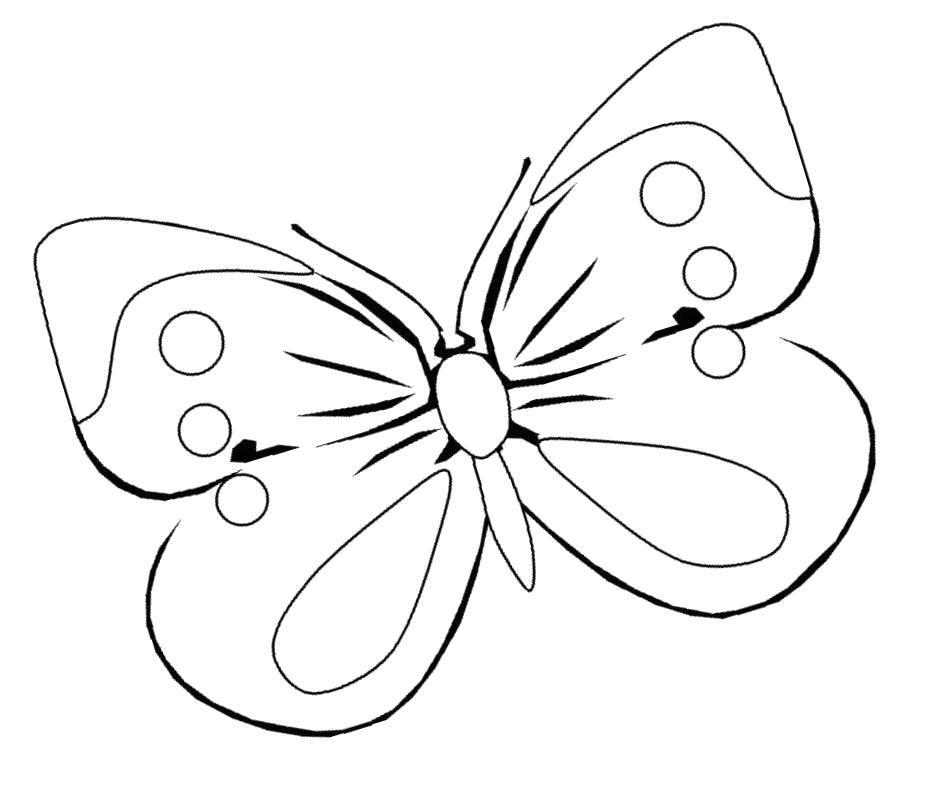 Раскраска Большие  детские. Бабочка  Большая Семья. Скачать бабочка.  Распечатать бабочка