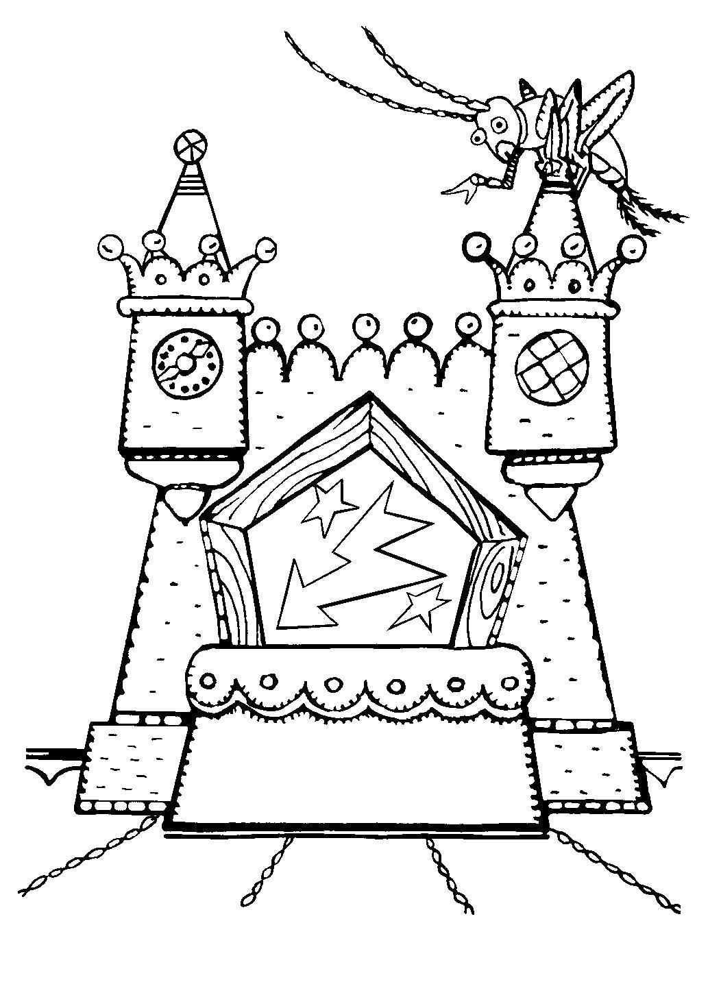 """Раскраска  для детей """"Приключения Буратино"""". Скачать буратино.  Распечатать герои сказок"""