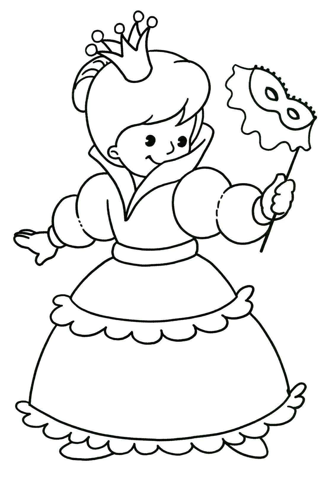 Раскраска девочка в костюме золушки. Скачать Девочка.  Распечатать Девочка