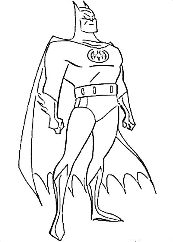 Раскраска Бэтмэн. Скачать Бэтмен.  Распечатать Бэтмен