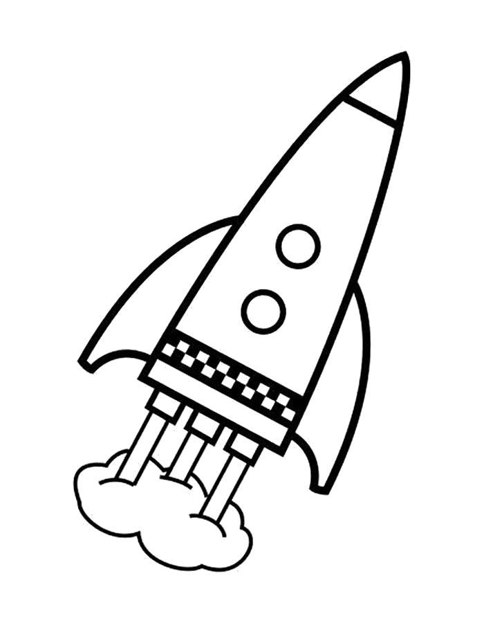 Раскраска  день космонавтики. Скачать день космонавтики.  Распечатать день космонавтики