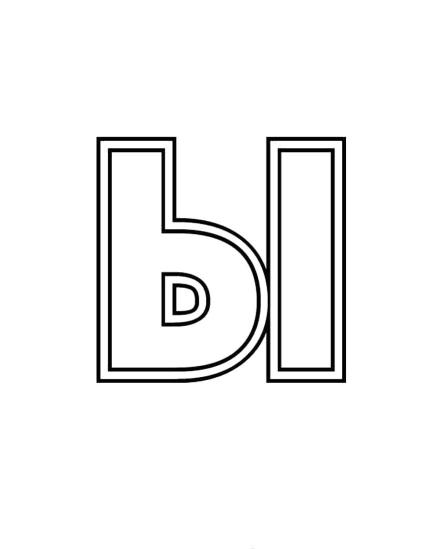 Раскраска Раскраски Буквы Русского Алфавита. буква