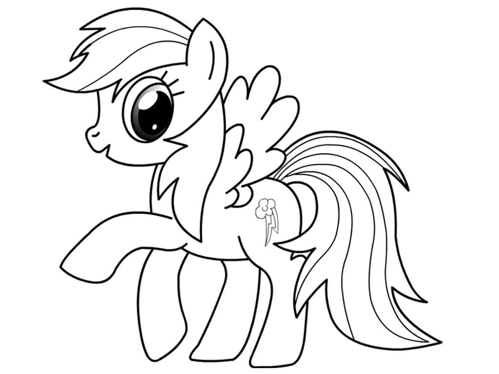 Раскраска Мой маленький пони. Раскраски. Дружба это чудо