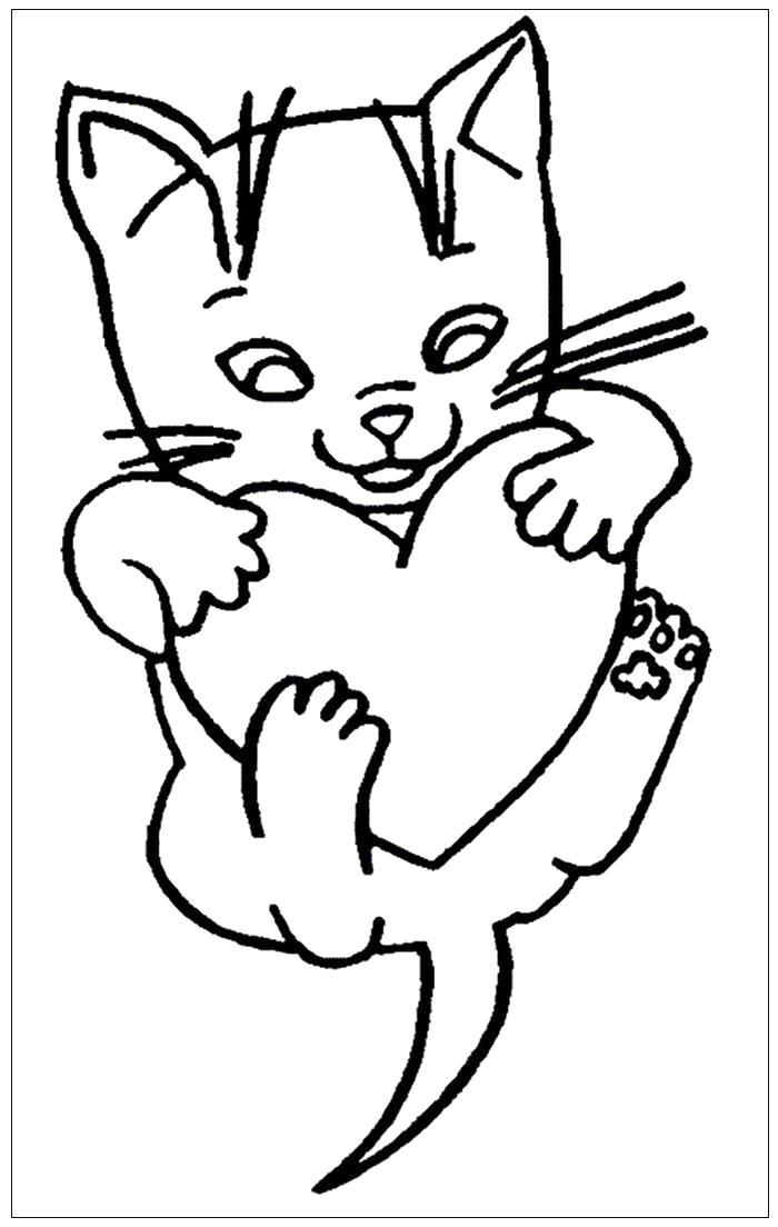 открытка с кошкой распечатать фото