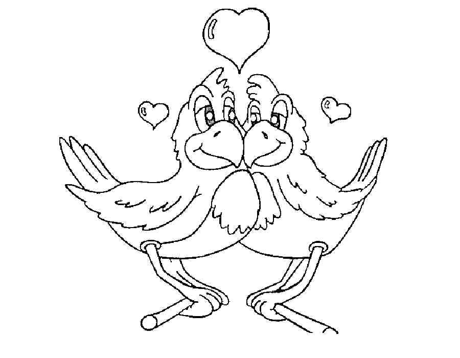 Раскраска Раскраска День Святого Валентина. день Святого Валентина