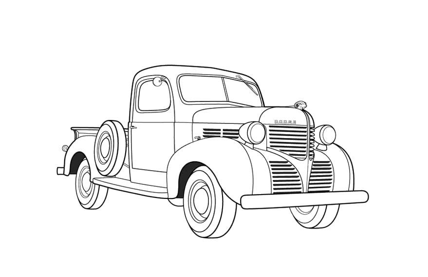 этом раскраска советские автомобили кого