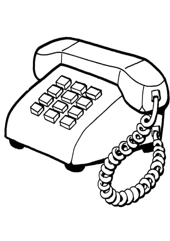 Картинки телефона печать