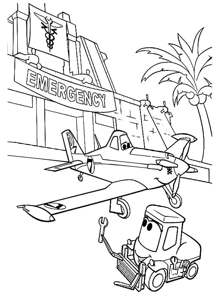 Название: Раскраска Картинки Самолеты для детского творчества. Категория: самолет. Теги: самолет.
