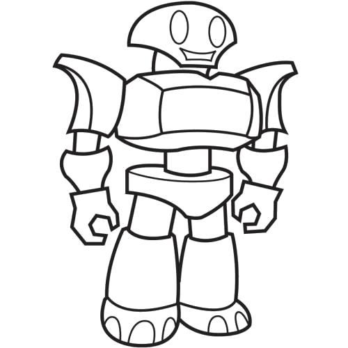 Раскраска  robot. Скачать Робот.  Распечатать Робот