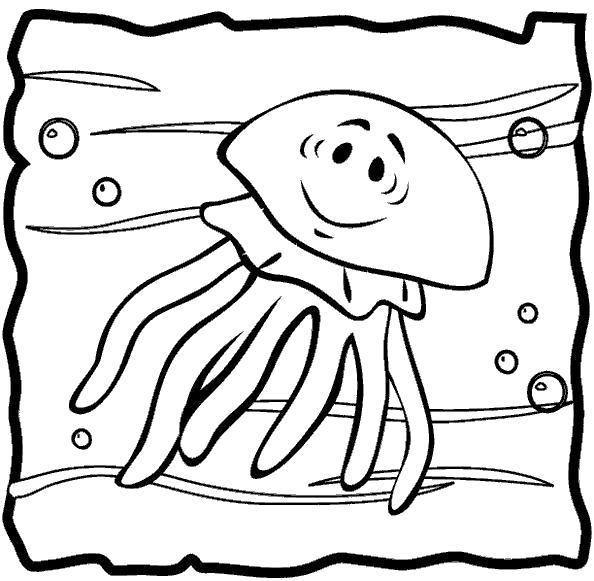 Раскраски морские, Страница:1.
