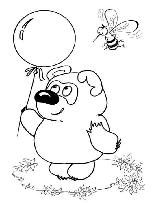 Раскраски Пчела, Раскраски картинки для всех возростов.