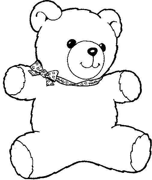 Название: Раскраска Мишка Тедди. Категория: Тедди. Теги: Тедди.