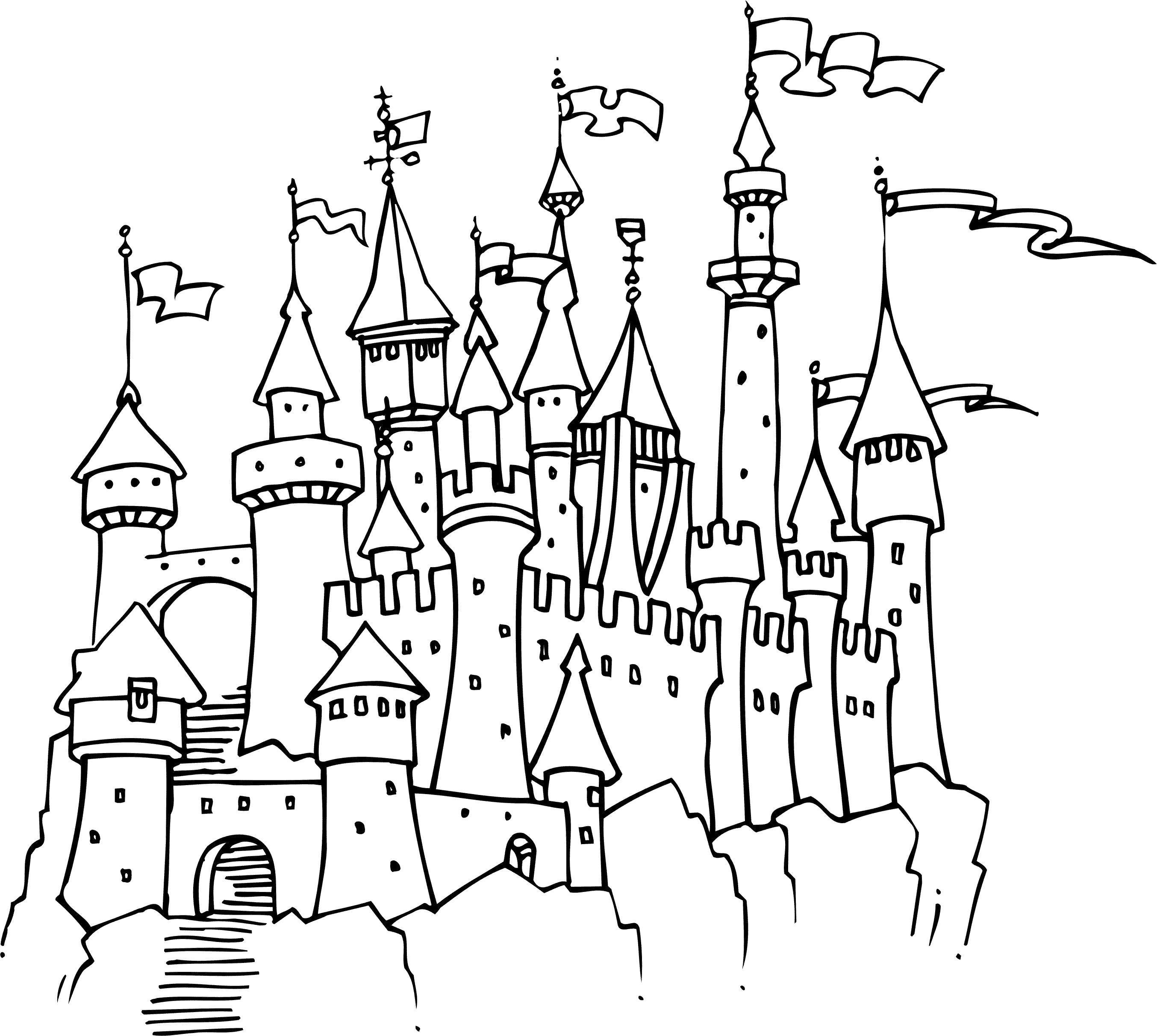 рождественское сказочный замок раскраска слухи, что привезти
