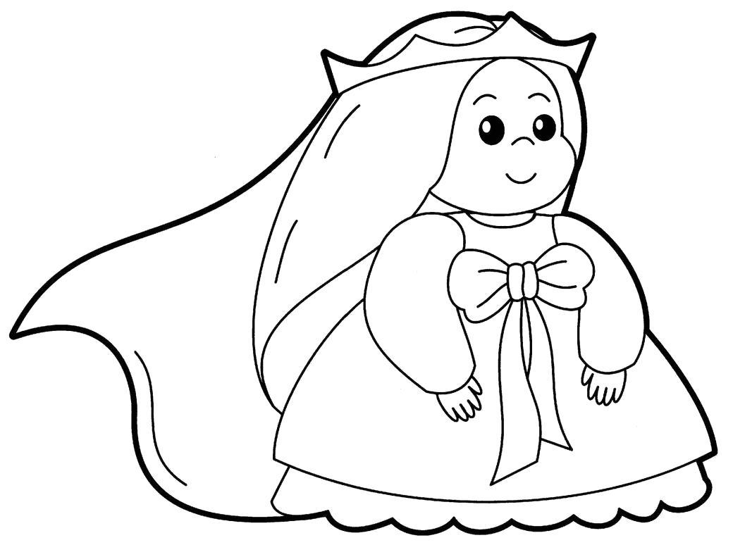 Раскраска раскраска принцесса. принцесса