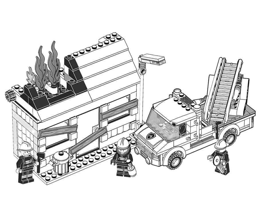 Раскраска Раскраски Лего. Лего