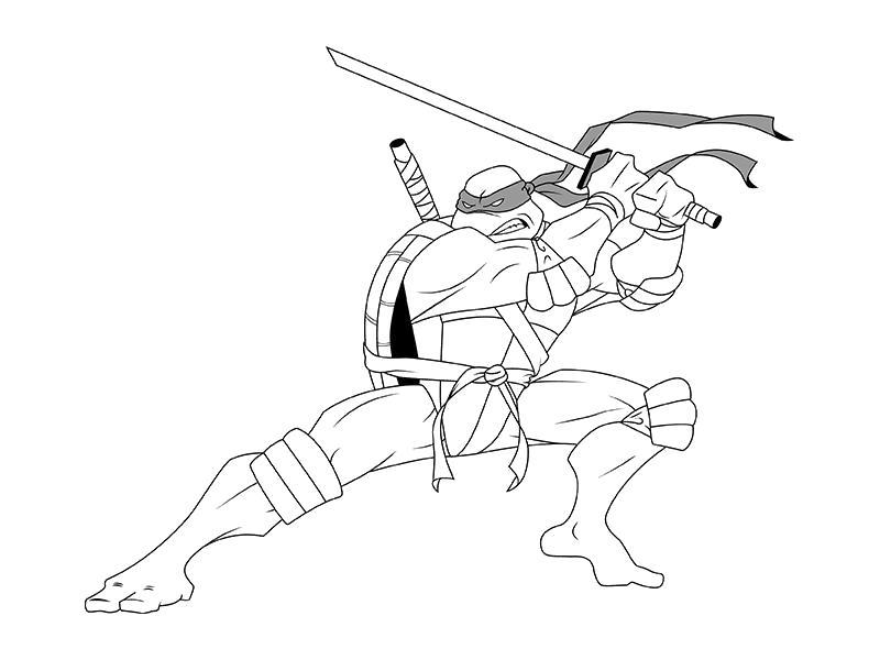 призналась черепашки ниндзя рисунки карандашом построено