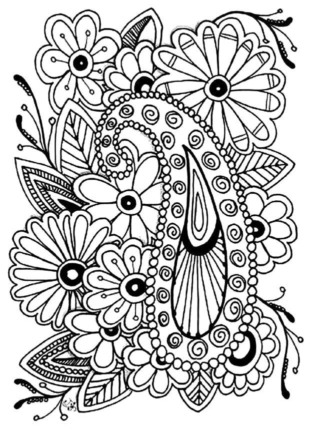 Название: Раскраска Раскраски антистресс. Категория: антистресс. Теги: узоры, цветы.