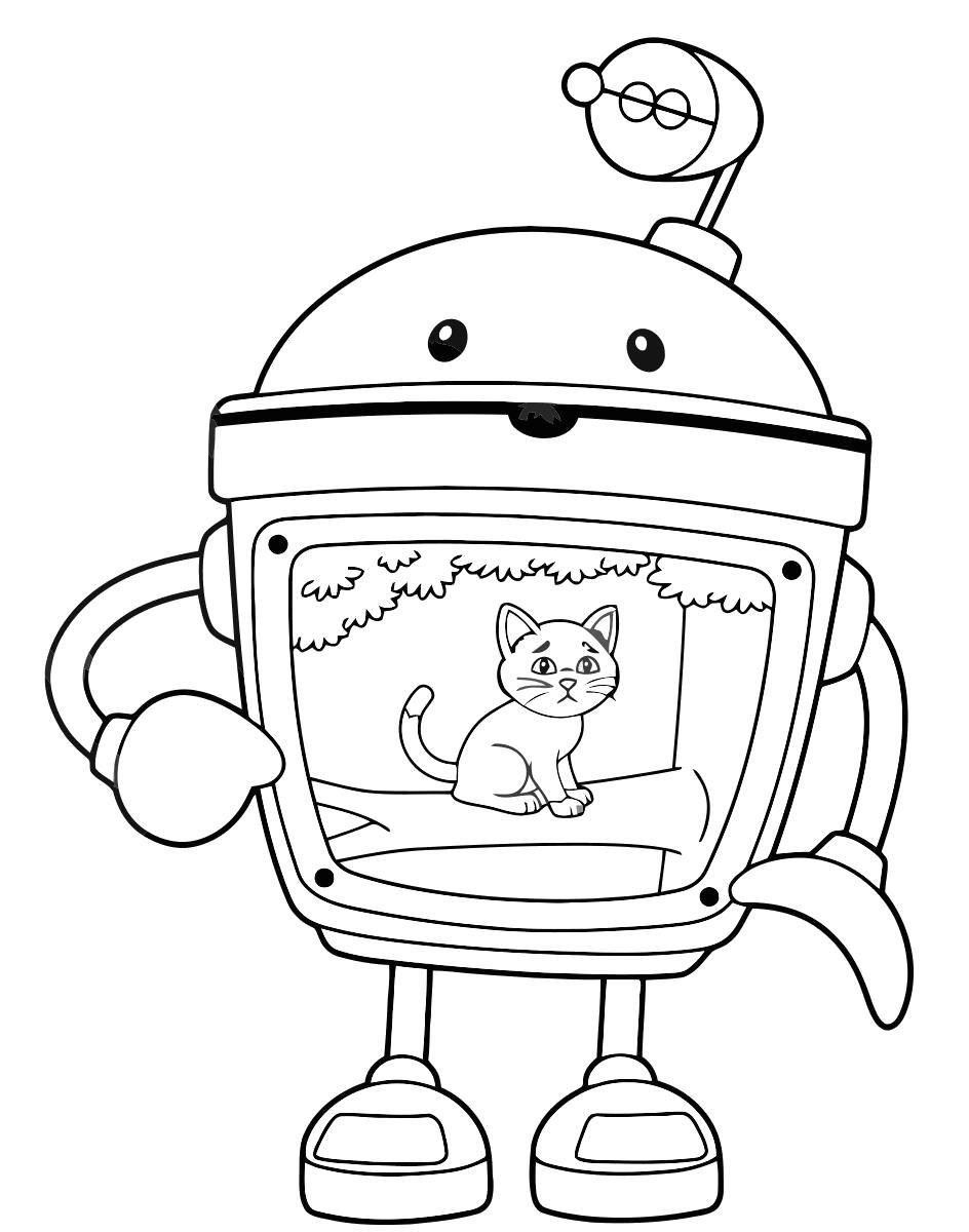 Raskraski Umizumi Raskraska Robot Umizumi