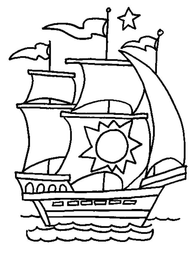 Раскраска корабли. для мальчиков