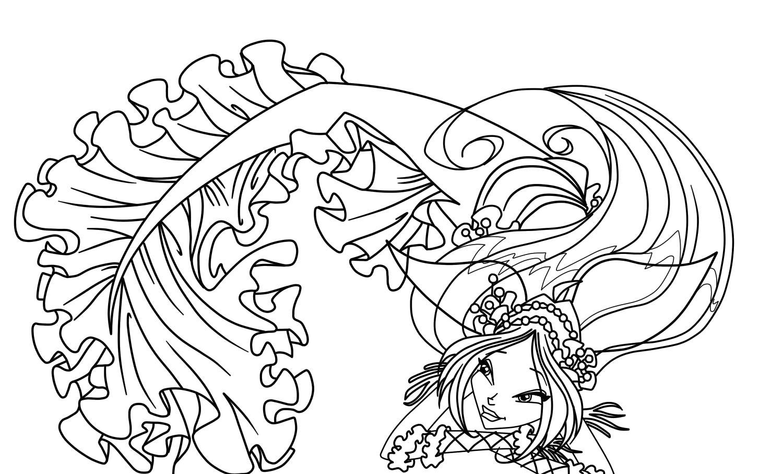 Раскраски для девочек Винкс. Скачать и распечатать новые картинки ... | 907x1500