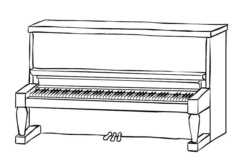 Картинки рисунки фортепиано