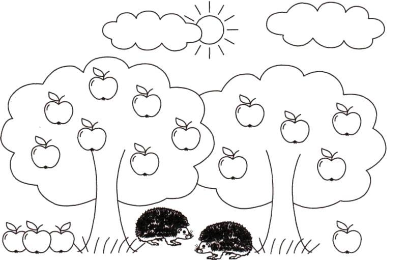 Раскраски грибы, Страница:4.