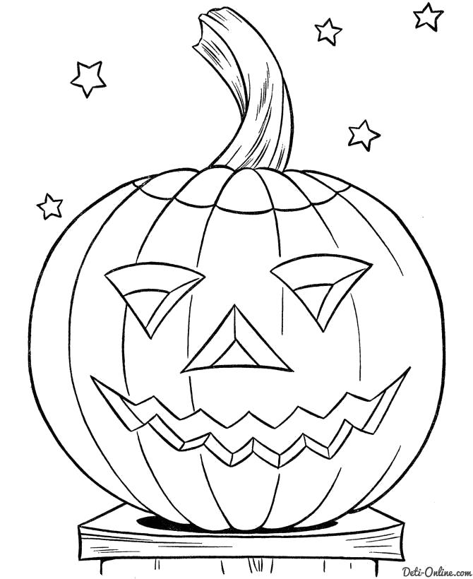Раскраска Раскраски Хэллоуин . Хэллоуин