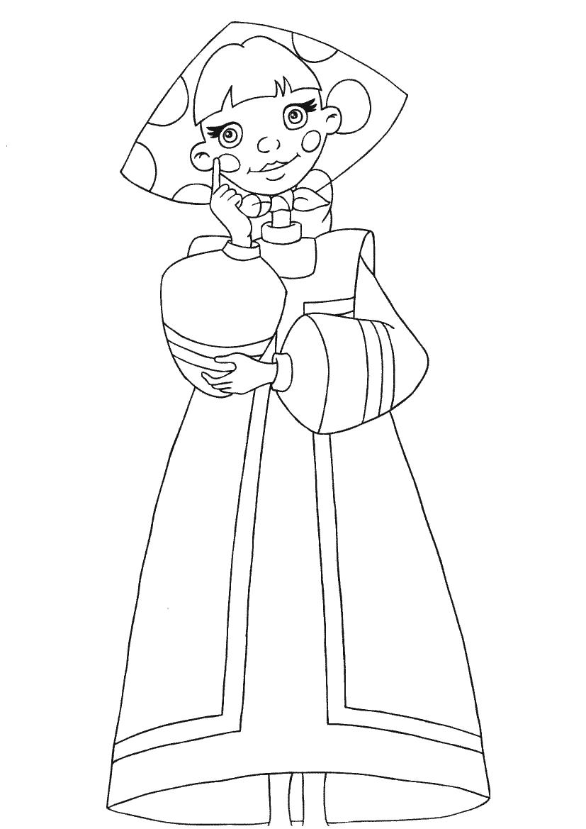 Картинки сказочного персонажа карандаша