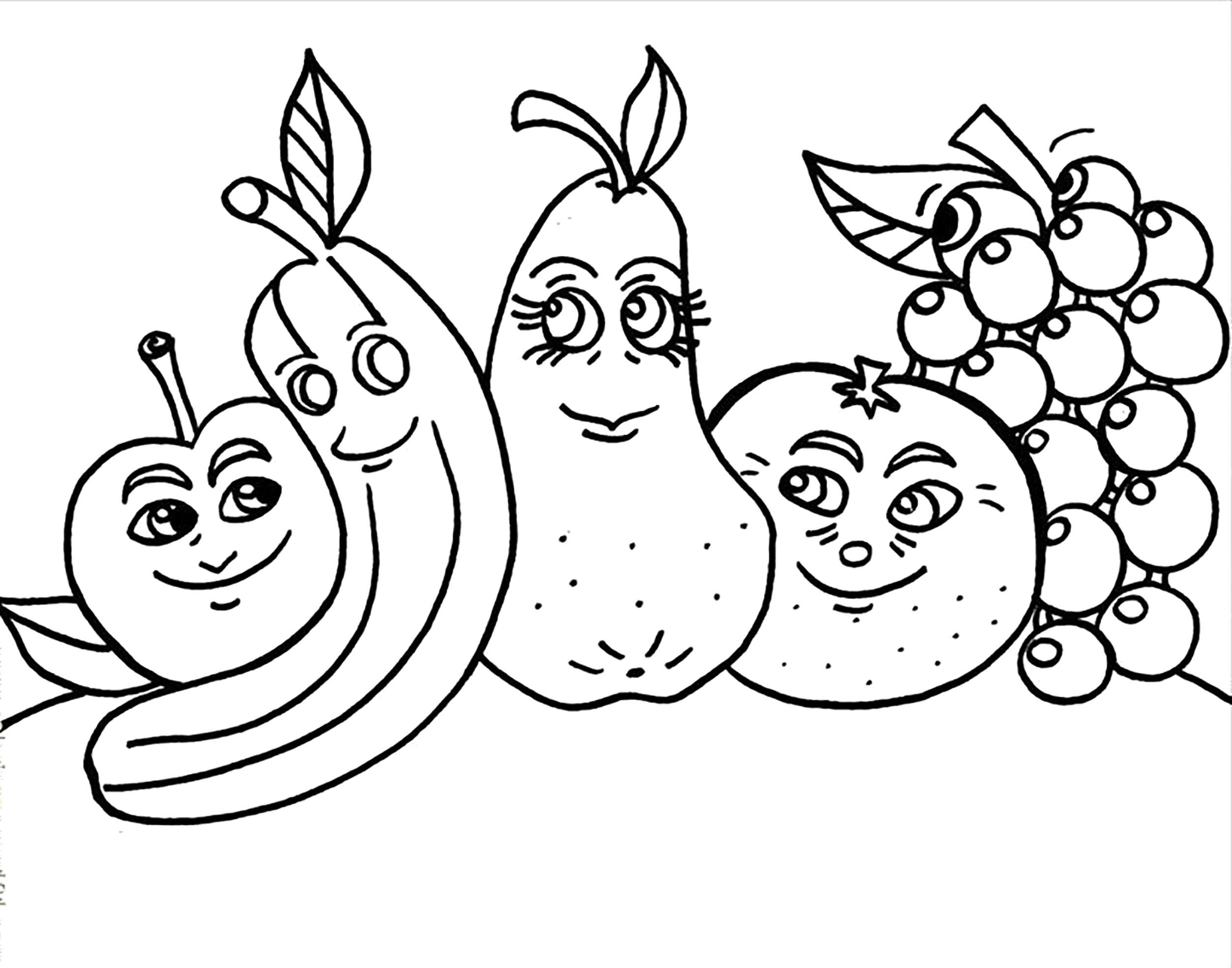 сведения, картинки раскраски витамины японская манга